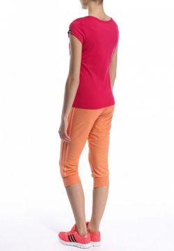 Футболка Спортивная adidas Performance                                                                                                              розовый цвет