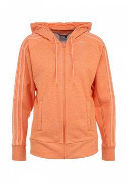 Толстовка adidas Performance                                                                                                              оранжевый цвет