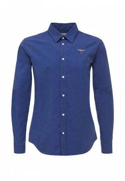Рубашка Aeronautica Militare                                                                                                              синий цвет