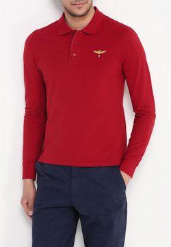 Поло Aeronautica Militare                                                                                                              красный цвет