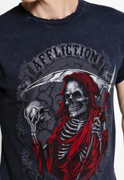 Футболка Affliction                                                                                                              чёрный цвет