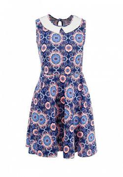 Платье Amplebox                                                                                                              синий цвет