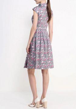 Платье Анна Чапман                                                                                                              серый цвет