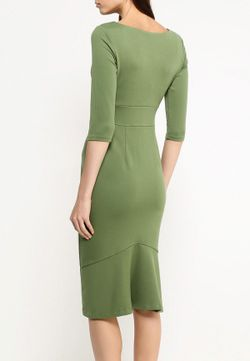 Платье Анна Чапман                                                                                                              зелёный цвет