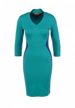 Платье Анна Чапман                                                                                                              Бирюзовый цвет