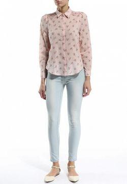 Блуза Angeleye London                                                                                                              розовый цвет