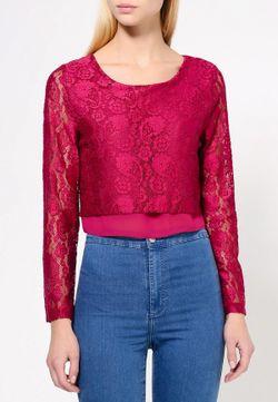 Блуза Angeleye London                                                                                                              красный цвет
