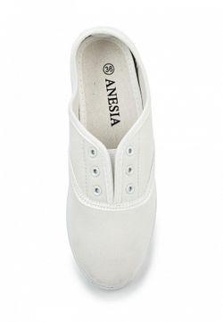 Кеды Anesia                                                                                                              белый цвет