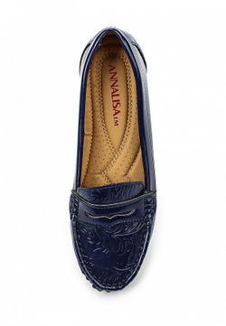Туфли Annalisa                                                                                                              синий цвет