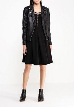 Куртка Кожаная Arma                                                                                                              чёрный цвет