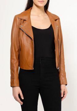 Куртка Кожаная Arma                                                                                                              коричневый цвет
