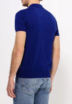 Поло ARMANI JEANS                                                                                                              синий цвет