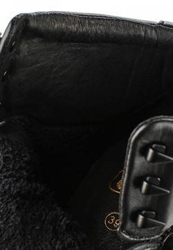 Кеды На Танкетке Ash                                                                                                              черный цвет