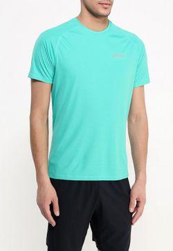 Футболка Спортивная Asics                                                                                                              Бирюзовый цвет