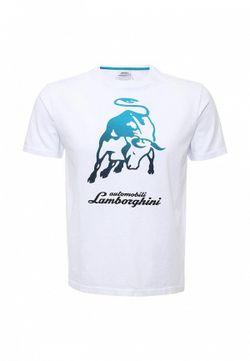 Футболка Automobili Lamborghini                                                                                                              белый цвет