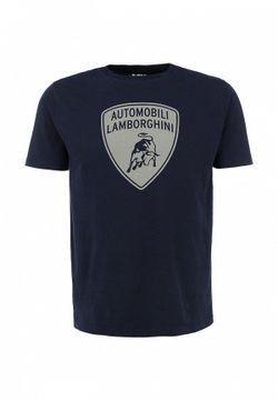 Футболка Automobili Lamborghini                                                                                                              синий цвет