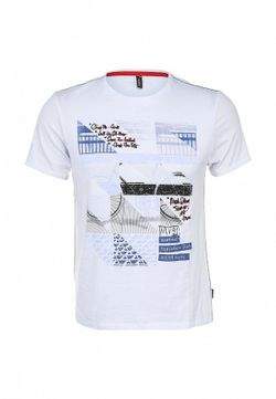Футболка Baon                                                                                                              белый цвет