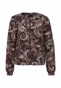 Куртка Утепленная Baon                                                                                                              коричневый цвет