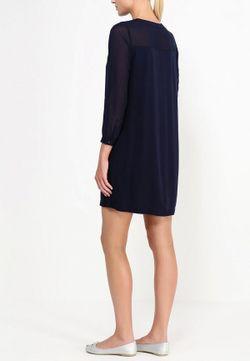 Платье Baon                                                                                                              синий цвет