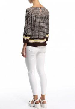 Блуза Baon                                                                                                              коричневый цвет