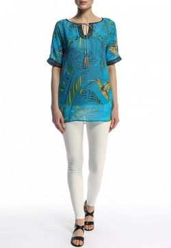 Блуза Baon                                                                                                              голубой цвет