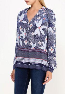 Блуза Baon                                                                                                              синий цвет