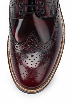 Туфли Base London                                                                                                              красный цвет