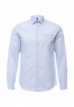 Рубашка Benetton                                                                                                              голубой цвет