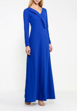 Платье Be In                                                                                                              синий цвет