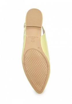 Туфли J&Elisabeth                                                                                                              зелёный цвет