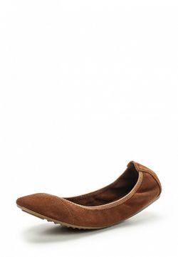 Балетки Betsy                                                                                                              коричневый цвет