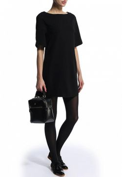 Минималистичное Платье Befree                                                                                                              черный цвет