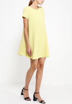 Платье Befree                                                                                                              желтый цвет