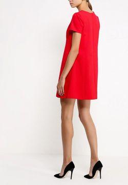 Платье Befree                                                                                                              красный цвет