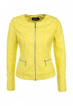Куртка Кожаная Bestia                                                                                                              желтый цвет