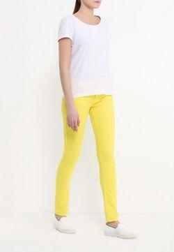 Брюки Bestia                                                                                                              желтый цвет