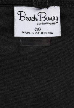 Плавки Beach Bunny                                                                                                              чёрный цвет