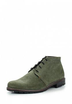 Ботинки Bekerandmiller                                                                                                              зелёный цвет