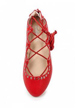 Балетки Bellamica                                                                                                              красный цвет