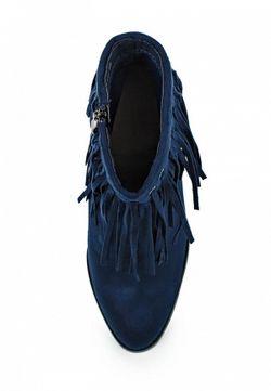 Ботильоны Benini                                                                                                              синий цвет