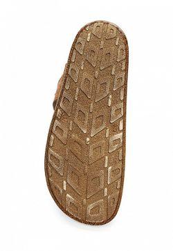 Шлепанцы Benta                                                                                                              коричневый цвет