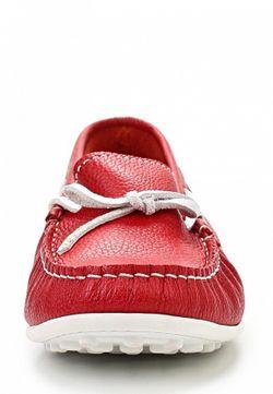 Мокасины Beppi                                                                                                              красный цвет