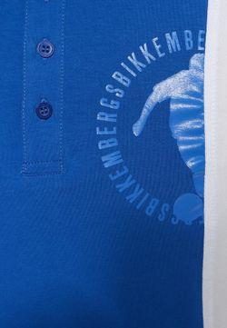 Поло Bikkembergs                                                                                                              синий цвет