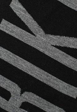Шарф Bikkembergs                                                                                                              чёрный цвет