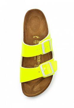 Шлепанцы Birkenstock                                                                                                              желтый цвет