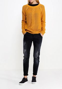 Джемпер Blendshe Blend She                                                                                                              оранжевый цвет