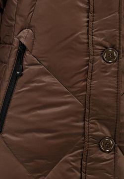 Пуховик Blauer                                                                                                              коричневый цвет