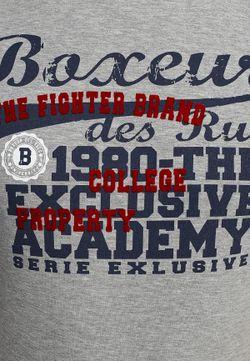 Футболка Boxeur Des Rues                                                                                                              серый цвет