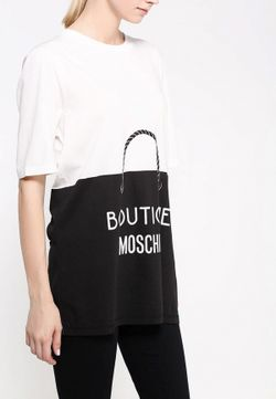 Футболка BOUTIQUE MOSCHINO                                                                                                              белый цвет
