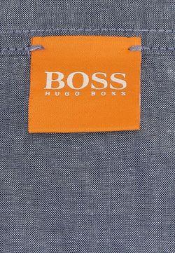 Поло BOSS Orange                                                                                                              серый цвет